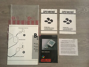 Notices Console Super Nintendo Super Nes Control Set