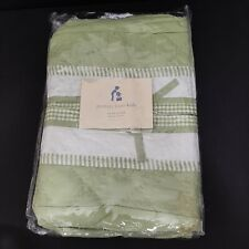 New In Package Pottery Barn Kids Green Gingham Diaper Stacker