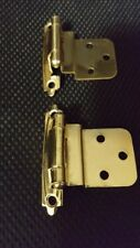 Lot of 144   Self Closing Cabinet Door Outside Mounting Hinges Liberty