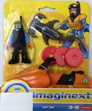 NIB Fisher-Price Imaginext Deep Sea Jet Ski Figure Action Toy