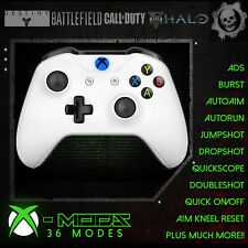 XBOX ONE RAPID FIRE CONTROLLER - BEST MOD ON EBAY!! White - Blue LED