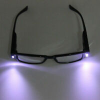 US Multi Strength Reading Glasses Eyeglass Spectacle Diopter Magnifier LED Light