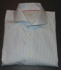 ETON OF SWEDEN MULTI COLOR STRIPED FRENCH CUFF DRESS SHIRT. ETN8020A4