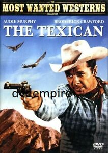 The Texican DVD Audie Murphy New and Sealed Australian Release