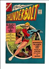 THUNDERBOLT  #54  [1966 FN]  DINOSAUR COVER!