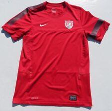 Mens NIKE DriFit United States USA Red Soccer Shirt Jersey Medium