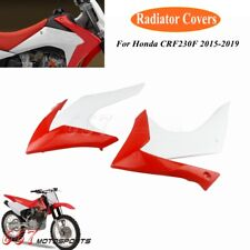 Plastic Radiator Covers Shrouds Front Side Fairing Cover For Honda CRF230F 15-19