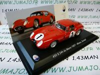 MAS20 voiture 1/43 LEO models MASERATI 450S 24 Heures Mans 1957 MOSS