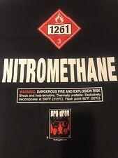 "New ListingNhra Drag Racing Pro Drag Usa ""Nitro 1320"" T- Shirt blk Size 2X"