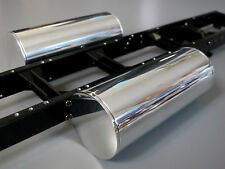 "Tamiya 5"" inch Aluminum Side Gas Tank R/C 1/14 Globeliner Hauler Cascadia-2 pcs"