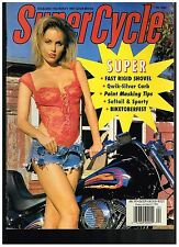SUPERCYCLE APRIL 1995 CONTENTS CUSTOM STREET CHOPPERS HOW TO PAINT MASKING TIPS