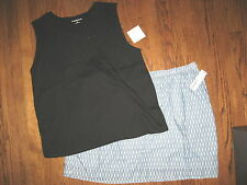 New womens plus size Sonoma 2X Skirt outfit top sleeveless Croft & Barrow lot