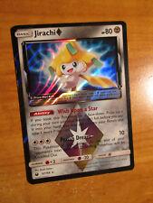 NM Pokemon JIRACHI Prism Star Card CELESTIAL STORM Set 97/168 Sun Moon Rare Holo