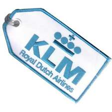 Aci Collectables Klm Embroidered Baggage Tag