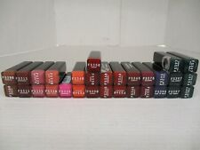 30 COVERGIRL FULL SPECTRUM COLOR IDOL SATIN LIPSTICK ASSORTED EXP: 10/21 AP 4646