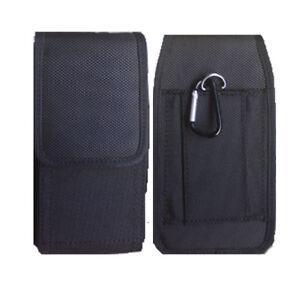 Universal Nylon Belt Hook Pouch Case Holster Fasten Bag for all Mobile Phones