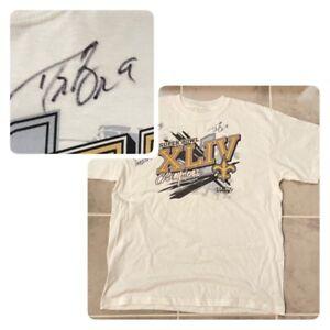 Drew Brees Autographed Auto Signed Super Bowl Shirt Saints