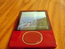 Microsoft Zune 80 Red (80 GB) New Battery