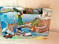 Thomas & Friends Adventures - Cranky at the Docks Playset. Brand New in Sealed B