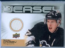 SIDNEY CROSBY 2010-11 UPPER DECK GAME USED JERSEY #GJ2-SC SP