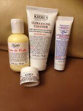 Kiehl's Ultra Facial Cleanser,Ultra Facial Cream,Creme de Corps,Hand Salve