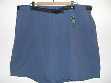 LL Bean Mens Swim Shorts Trunks Size XXL Mallard Blue Water Sports Cruise New