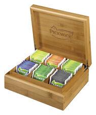 Original Pickwick Bambus Teekiste/Teebox inkl.Tee