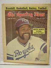 June 28,1975 SPORTING NEWS Magazine- Hal McRae on cover/Dave Parker