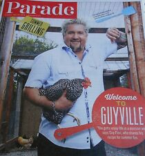 PARADE MAGAZINE MAY 2014 GUY FIERI SUMMER GRILLING RECIPE FOR SUMMER FUN