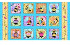 Bee Yourself Panel by Quilting Treasures
