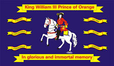 5' x 3' King William Prince of Orange Flag Northern Ireland 6 Counties Banner