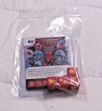 Marvel Dice Masters Amazing Spider-Man * GLADIATOR Set RARE Uncommon CUR 4 DICE