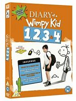 Diary Of A Wimpy Kid 1, 2, 3  4 [DVD]