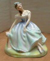 "Royal Doulton Figurine Giselle Ballerina 6"" Bone China England HN2139"