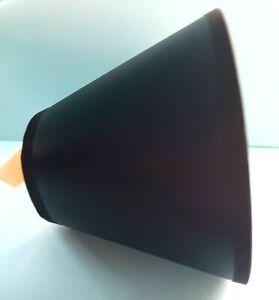 "New Lake Shore Black w/White interior Chandelier Shade 2.5"" X 5"" X 4"""