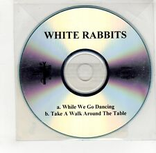 (GO100) White Rabbits, While We Go Dancing - 2008 DJ CD