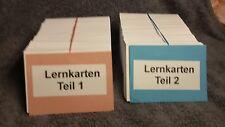 Lernkarten für Erzieher-Ausbildung, Komplettsatz mit 1.000 Stk, Prüfungsvorber.