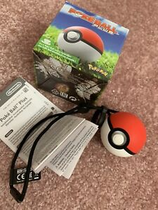 Nintendo Switch Pokemon Go Pokeball Plus Ball Controller Accessory In Box