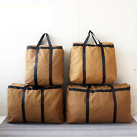 Canvas Luggage Bag Carry On Travel Storage Large Capacity Bag Pack Duffle Pouch