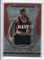 2013-14 Clyde Drexler Jersey Panini Select Blazers Select Swatches