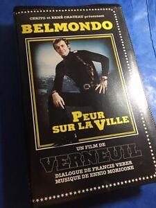 VHS PEUR SUR LA VILLE Édition René Chateau Vidéo 1981