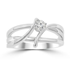 0.25 ct Ladies Round Cut Diamond Anniversary Wedding Band Ring