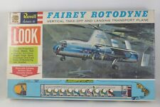 Vintage 1/78 Revell Fairey Rotodyne H-185:198 1961 issue MINT Old store stock