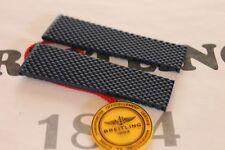 100% Genuine NEW Breitling Bleu Aero Classic Rubber Deployment Strap 24-20 mm