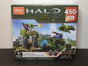NEW Halo Infinite Mega Construx Pro Builders Building Box Set 450 Pieces