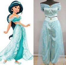 Animation Movie Princess Jasmine Aladdin Adult Cosplay Party Women Costume