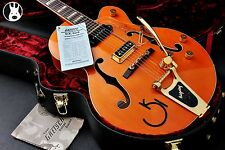 ✯ SUPERBE ✯ Gretsch G6120-W 1957 Eddie Cochran Signature Hollow Body ✯ Orange ✯ 2005 ✯