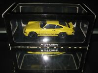 PORSCHE 911 Carrera RS, 2.7, 1973, Gelb, AUTOart 78053, 1/18, TOP Yellow Black