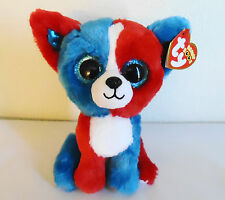 """Ty Beanie Boos Valor the 4th of July Dog 6"""" Mwmt Cracker Barrel Exclusive"""