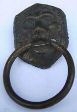 Antique Bronze Lion Head Door Pull